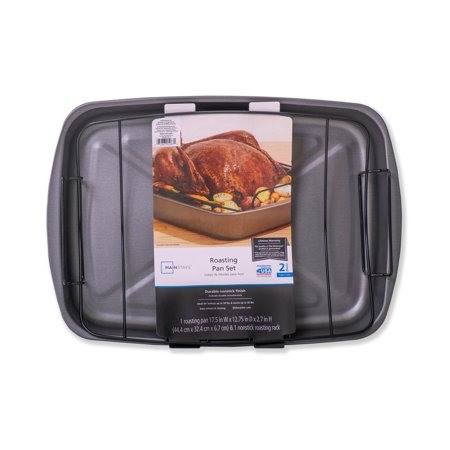 Mainstays Roaster with Rack Now $6.48 (Was $12.96)