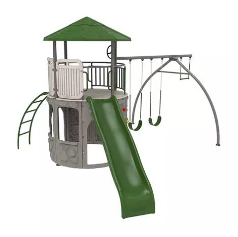 Save $500 off the Lifetime Adventure Tower Swing Set