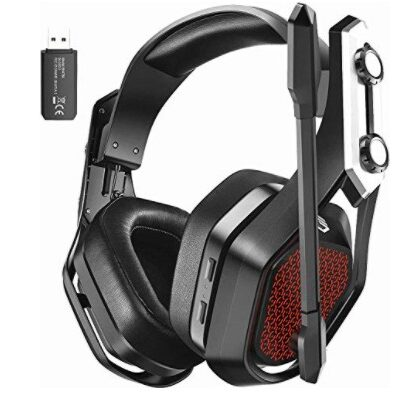 Mpow Iron Pro 2.4G Wireless Gaming Headset for PS4/PS5/PC Now $34.68