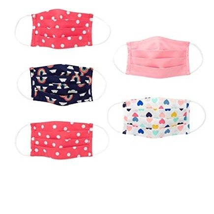 Simple Joys by Carter's Kids' 5-Pack Face Masks Now .99 (Was .90)