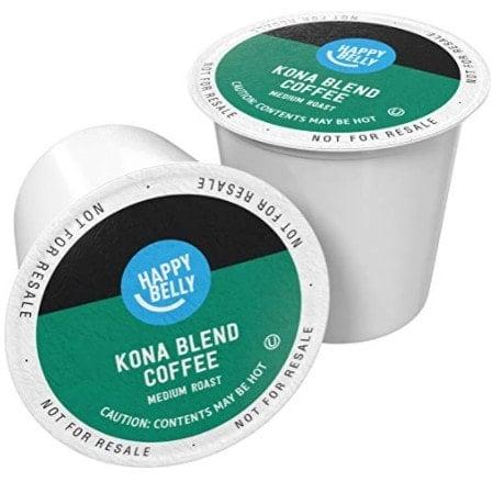 100 Ct. Happy Belly Kona Blend Coffee K-Cups Now $23.19 - $0.23 Per Pod