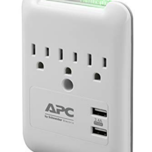 APC Wall Outlet Surge Protector with USB Ports Now .99 (Was .99)
