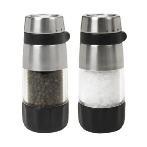OXO Good Grips Salt and Pepper Grinder Set, Stainless Steel Now .09 (Was .99)