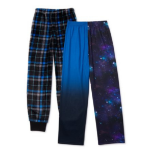 Cozy Jams Boys 2 Pack Pajama Pant Sizes S-XL Now  (Was .05)