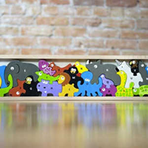 BeginAgain Animal Parade A to Z Puzzle and Playset Now .99 (Was .99)