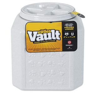 Gamma2 Vittles Vault Pet Food Container, 25 Pounds Now .01 (Was .99)