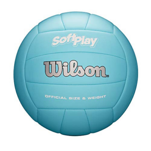 Wilson Outdoor Soft Play Volleyball (Blue) Now .97 (Was .99)