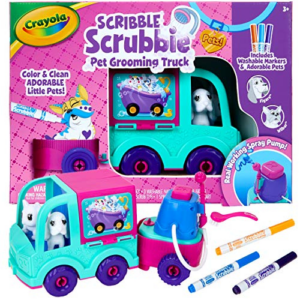 Crayola Scribble Scrubbie Pets Grooming Truck Now .67 (Was .99)