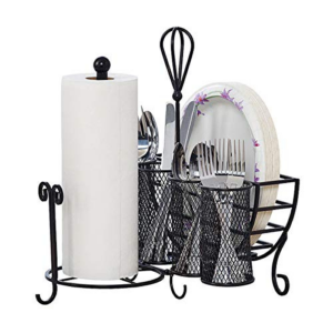 Picnic Plate Napkin and Flatware Storage Caddy Now .94 (Was .00)