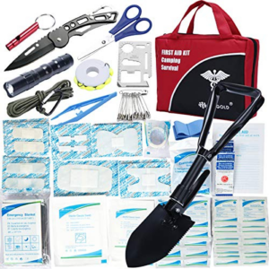 First Aid Kit Home Comprehensive 141 Piece Soft Case Bag Now .99 (Was .99)
