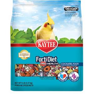 Kaytee Forti-Diet Pro Health Cockatiel Food 5lb Now .99 (Was .99)