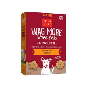 Cloud Star Wag More Bark Less Oven Baked Biscuits 14 oz. Now .10 (Was .95)