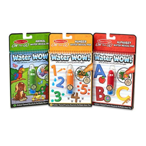Melissa & Doug Water Wow! Bundle - Animals, Alphabet and Numbers Now .39 (Was .99)