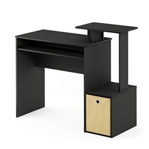 Furinno Econ Computer Writing Desk, Black/Brown Now .82 (Was 9.99)