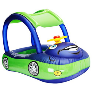 iGeeKid Baby Inflatable Pool Float with Canopy Now .99 (Was .99)