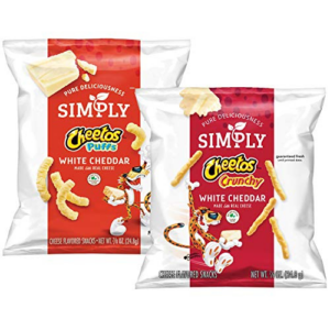 Cheetos White Cheddar Puffs & Crunchy 36 Count Now .98 (Was .98)