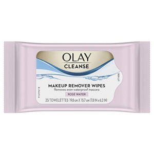 Olay Cleanse Makeup Remover Wipes Rose Water, 25 count Now .99 (Was .99)