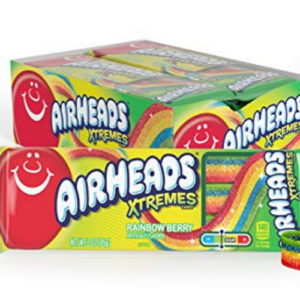 Airheads Xtremes Belts Sweetly Sour Candy Pack of 12 Now .84  (Was .20)