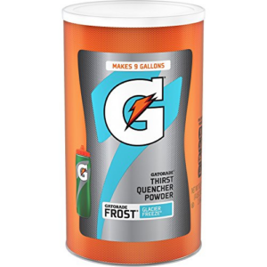 Gatorade Thirst Quencher Powder, Frost Glacier Freeze, 76.5 Ounce Now .79