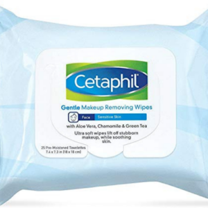 Cetaphil Gentle Makeup Removing Wipes, 25 towelettes Now .19 (Was .49)