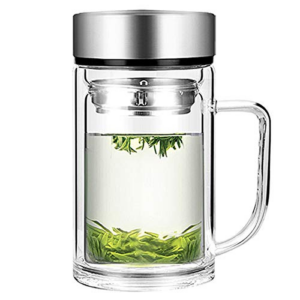 Office Glass Infuser Bottle Tea Tumbler Now .49 (Was .99)