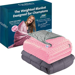 Quility Weighted Blanket for Kids or Adults Now .99 (Was .99)