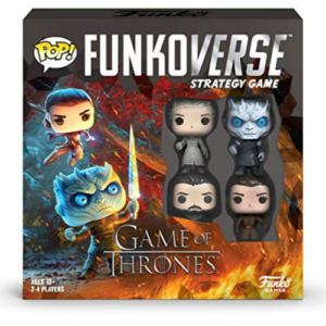 Funkoverse: Game of Thrones 100 4-Pack Board Game Now .04 (Was .99)