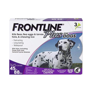 Frontline Plus Flea and Tick Treatment for Dogs Now .01 (Was .99)