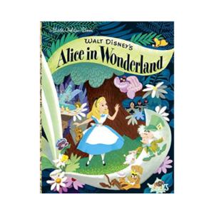 Walt Disney's Alice in Wonderland (Little Golden Books) Now .74 (Was .99)