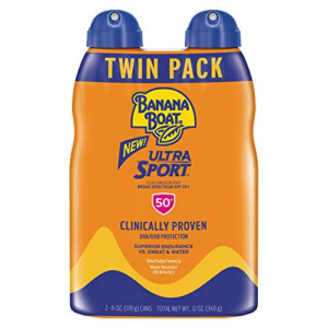 Banana Boat Ultra Sport Broad Spectrum SPF 50 Twin Pack Now .44 (Was .99)