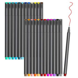 VITOLER Colored Journaling Pens (24 Colors) Now .73 (Was .99)