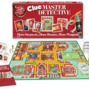 Clue Master Detective Board Game, Multi-Colored Now .62 (Was .95)
