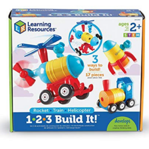 Learning Resources 1-2-3 Build It! Rocket-Train-Helicopter Now .24 (Was .99)