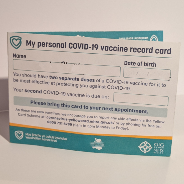 Free Lamination Of COVID-19 Vaccine Card at Staples