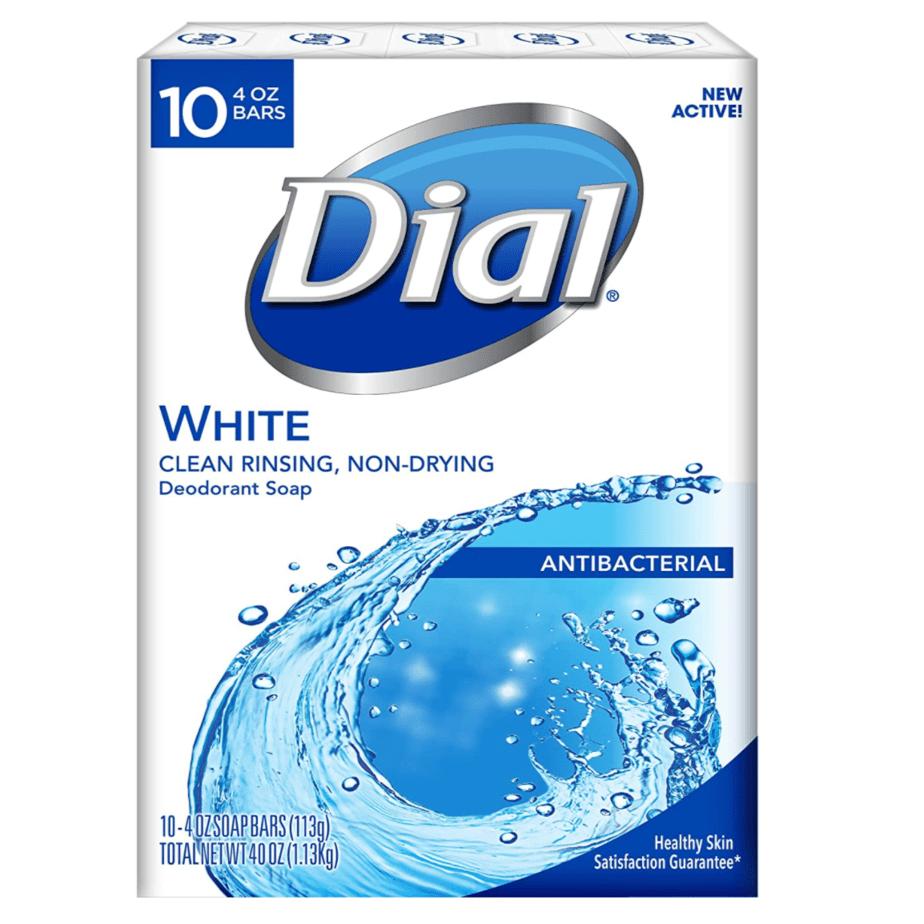 Dial Antibacterial Bar Soap 10-Count Now .74