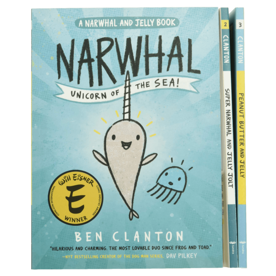 Narwhal and Jelly Books and Poster Set Now .99 (Was .97)