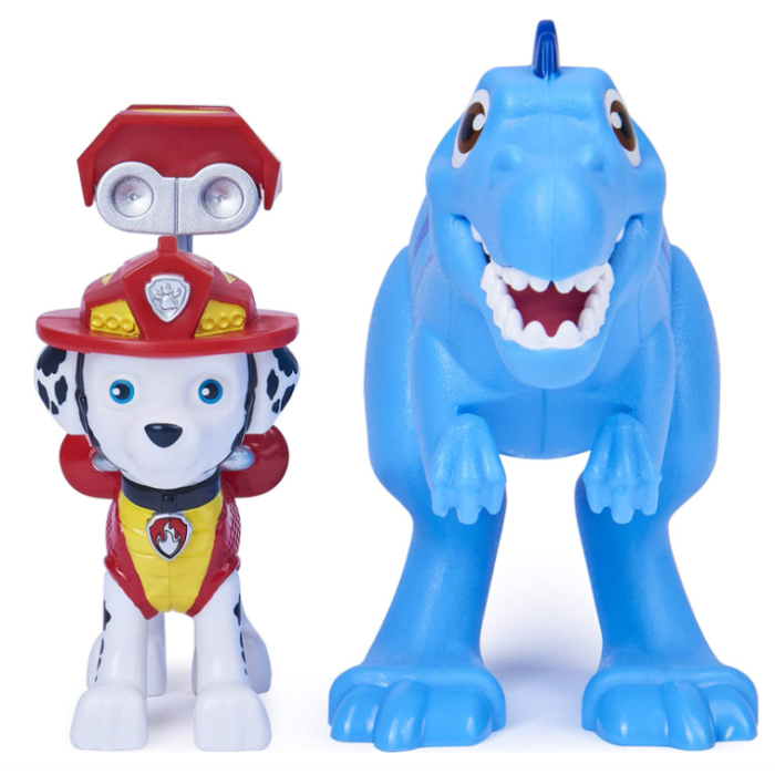Paw Patrol, Dino Rescue Marshall and Dinosaur Action Figure Set Now .22 (Was .99)
