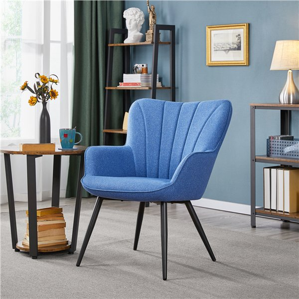 SmileMart Upholstered Fabric Modern Accent Chair Now .99