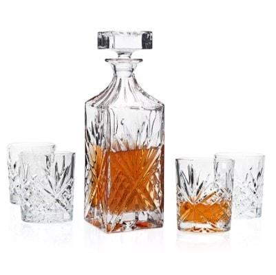 Godinger Dublin 5-Pc. Whiskey Set  (Was )