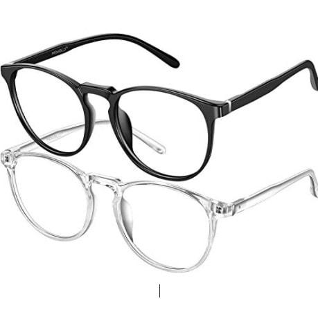 2 Pack of FEIYOLD Blue Light Blocking Glasses Women/Men Now .99