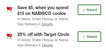 Stacking Discounts = BIG Savings on Ritz Crackers at Target