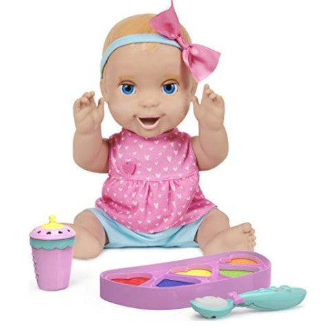 Mealtime Magic Mia, Interactive Feeding Baby Doll Now .24 (Was .99)