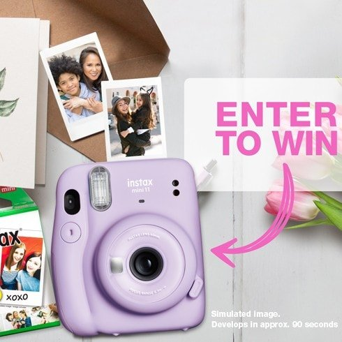 Enter to Win 1 of 10 FREE Fujifilm Instax Bundles