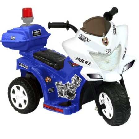 Kid Motorz Lil Patrol 6V, Blue and White Now .93 (Was .99)