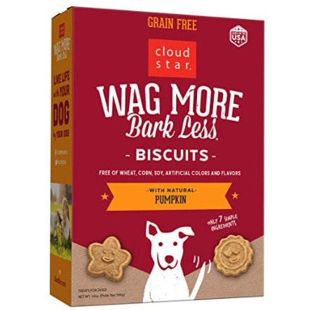 Cloud Star Wag More Bark Less Oven Baked Biscuits -14 oz. Now .24 (Was .95)