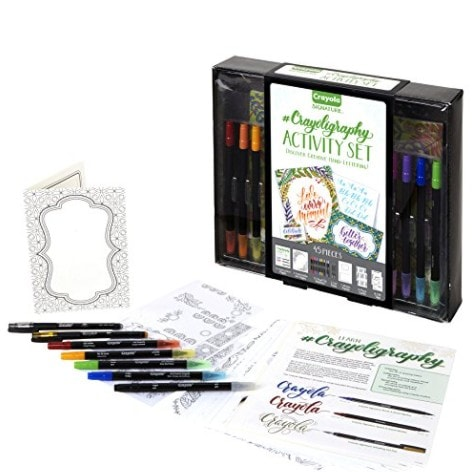 Crayola Signature Crayoligraphy Hand Lettering Art Set Now .24 (Was .99)