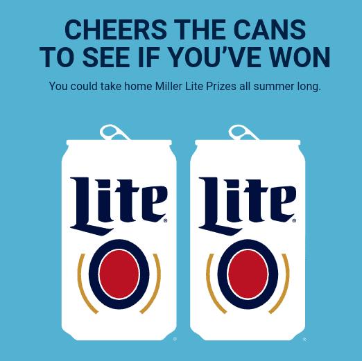 Miller Lite Summer 2021 Instant Win Game - 8,503 Winners!