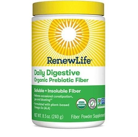 Renew Life Adult Digestive Organic Prebiotic Fiber Powder Now .74 (Was .99)