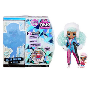 L.O.L. Surprise! O.M.G. Winter Chill ICY Gurl Fashion Doll Now .99 (Was .99)