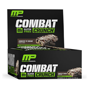 MusclePharm Combat Crunch Protein Bar 12 Count Now .90 (Was .25)